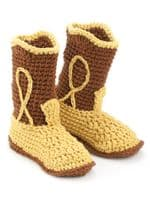 Big Foot Boutique Crochet Slippers Book AA 871125 DISCONTINUED